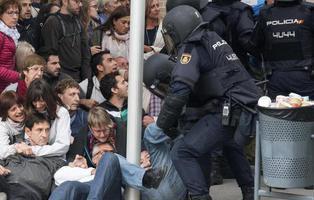 La Generalitat contó como agresiones el 1-O hasta las ansiedades por ver las cargas por TV
