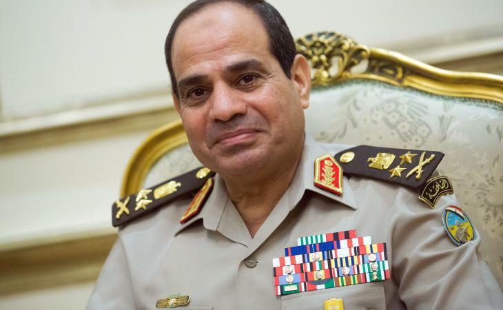 Abdel Fatah al-Sisi ganó las elecciones de 2014 con un 96% de los votos