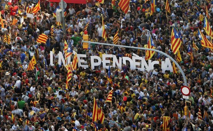 La inestabilidad política y económica forzarían un nuevo Estado en Cataluña