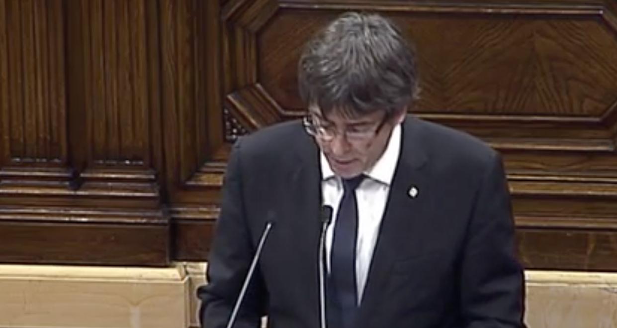 'La única forma de garantizar nuestros valores es que Cataluña se constituya en un Estado'
