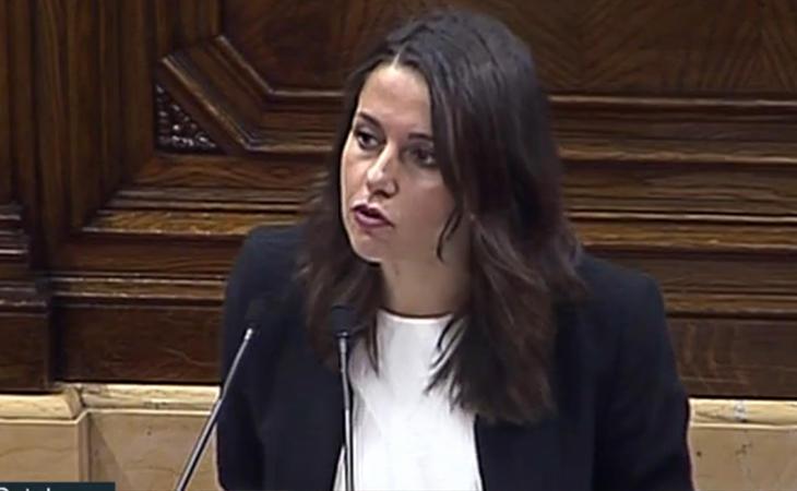 Inés Arrimadas a Puigdemont: