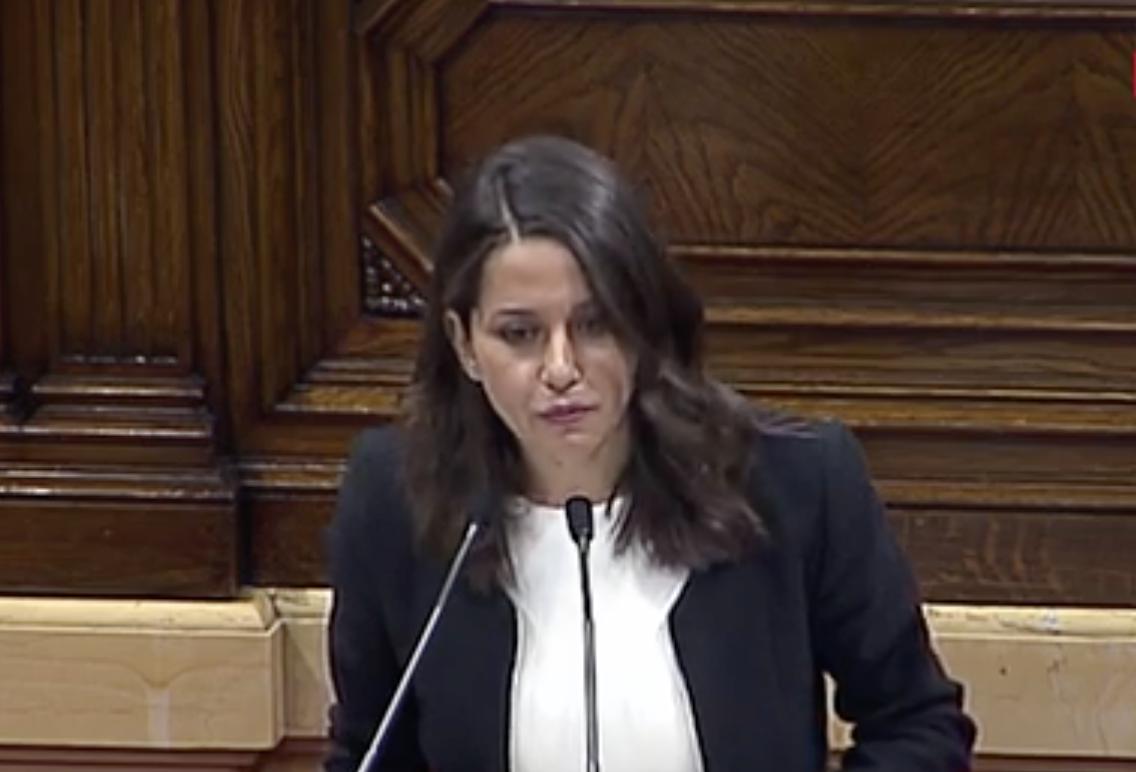 'Usted ha conseguido despertar a la Cataluña silenciada por los medios de comunicación'