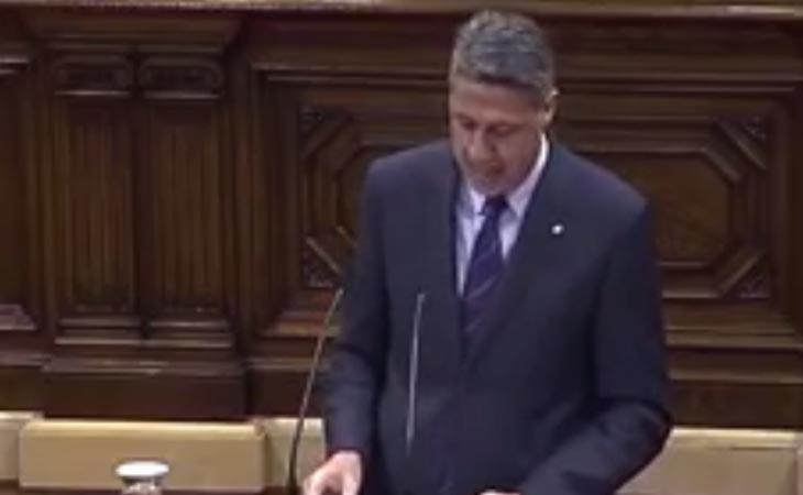 'Están perpetrando un golpe de Estado, un acto subversivo', asegura Albiol (PP)