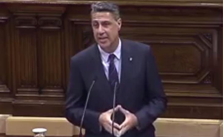 'No va a haber ninguna república independiente de Cataluña, el Estado de Derecho no se lo va a permitir', asegura Albiol