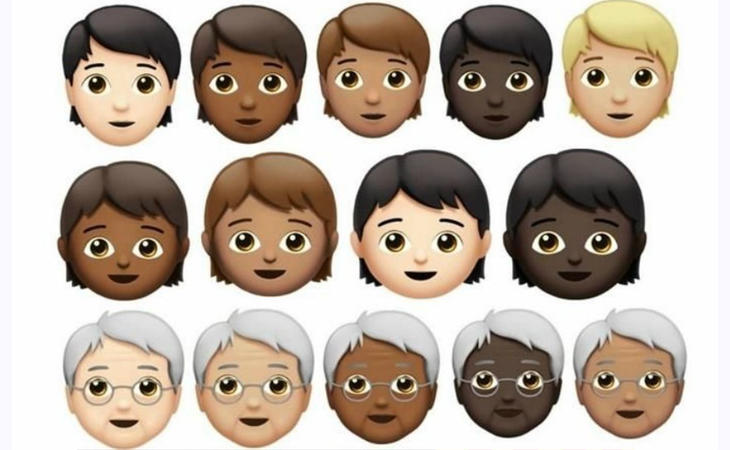 Los nuevos emojis de género neutro