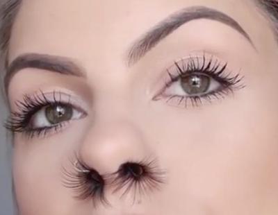 Extensiones de los pelos de la nariz: la tendencia más loca