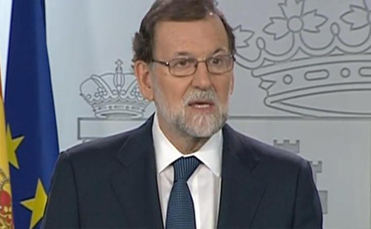 Rajoy pide que la Generalitat aclare si ha habido declaración de independencia