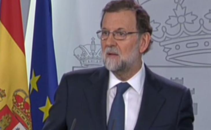 Mariano Rajoy pedirá un requerimiento a Puigdemont para saber si hubo DUI