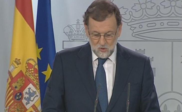 'Dependiendo de la respuesta, ahí se marcará el futuro de los próximos días', ha advertido Rajoy