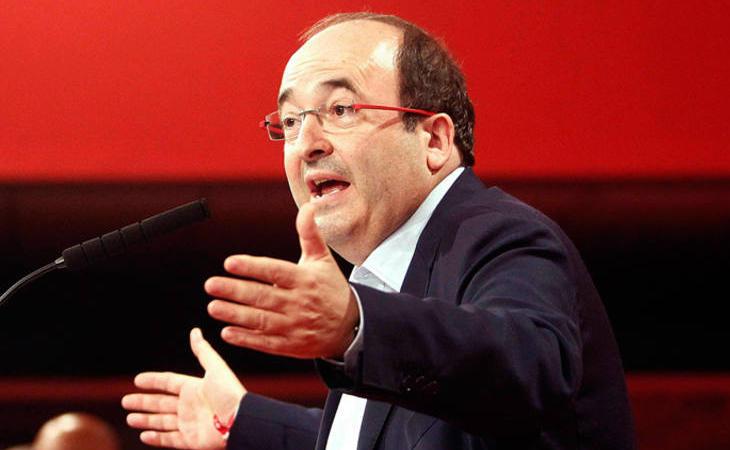 Miquel Iceta: 'Valoro mucho la prudencia y la mesura de la declaración de Rajoy'