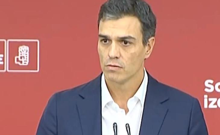 Pedro Sánchez: 'Ayer vivimos una ceremonia del absurdo en el Parlament'