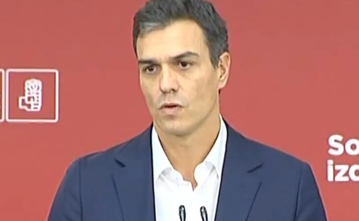 Pedro Sánchez: 'La mejor manera de defender la Constitución es su reforma, su modernización'