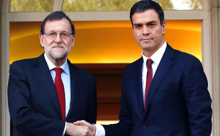 Mariano Rajoy y Pedro Sánchez han acordado debatir sobre la reforma de la Constitución