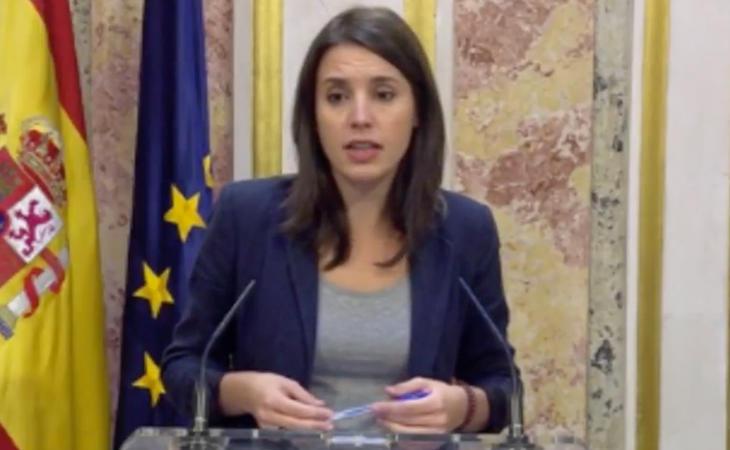 Irene Montero: 'La mejor respuesta es el diálogo. La alianza PP-PSOE-Cs por el 155 es un error'