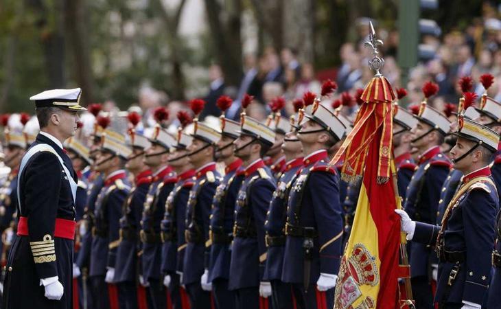 Desfile militar del Día de la Fiesta Nacional de España