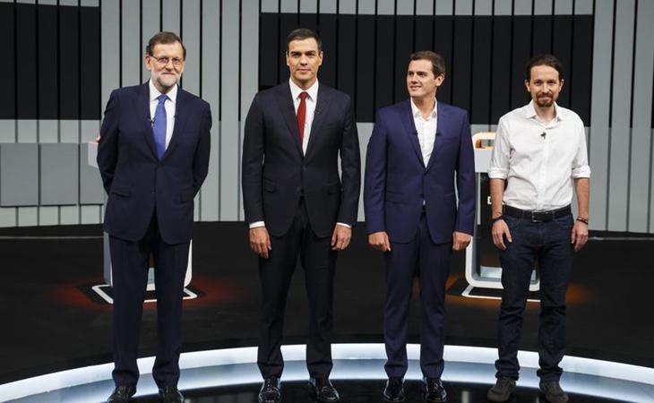 Los partidos constitucionalistas se muestran unidos frente a la postura de Unidos Podemos