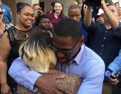 Liberado un hombre tras pasar más de media vida en prisión por un error judicial