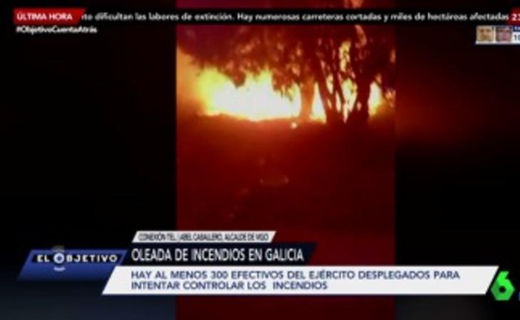 LaSexta modificó su programación para informar sobre los incendios durante la peor jornada para Galicia