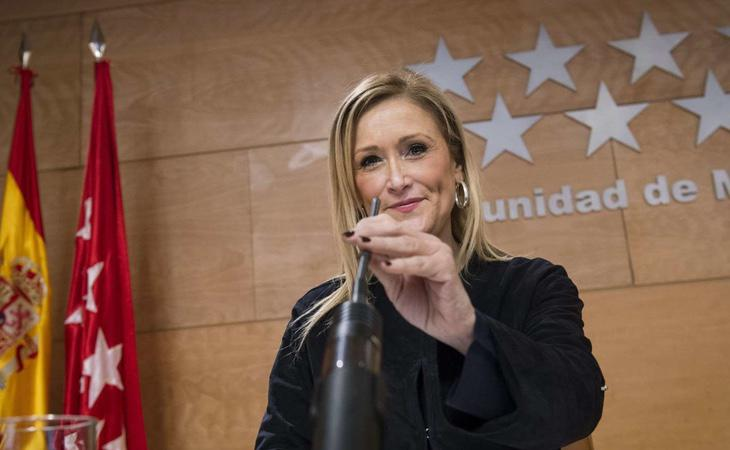 Cristina Cifuentes ha realizado un esfuerzo por desprenderse de los casos de corrupción que azotan al PP