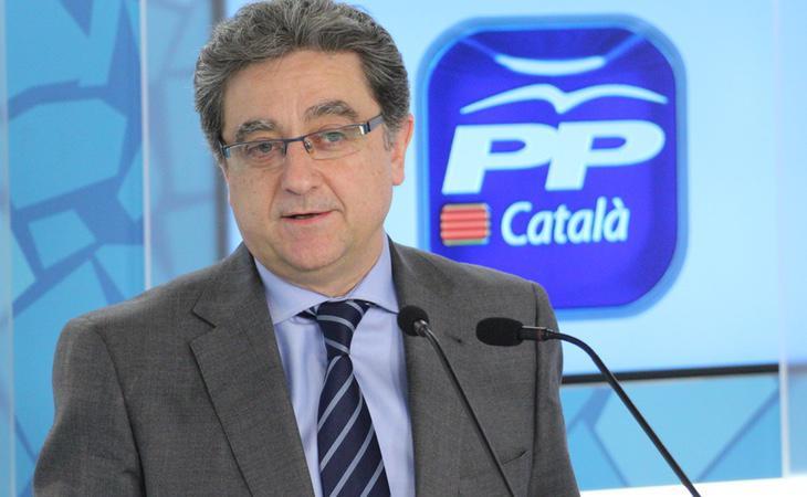 El Delegado del Gobierno en Cataluña Enric Millo