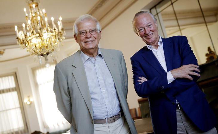 Josep Borrell y Josep Piqué podrían formar parte de un gobierno de notables