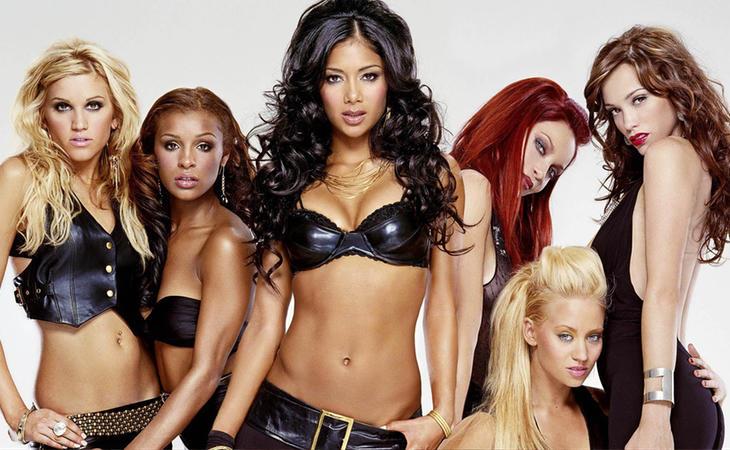 Las Pussycat Dolls triunfaron a comienzos de los 2000