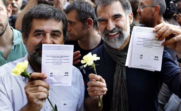 El soberanismo utilizará la detención de los 'Jordis' para criticar la 'represión' del Estado