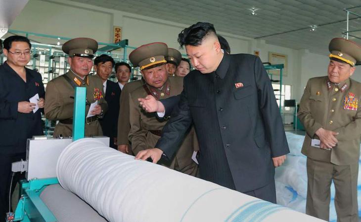 El presidente norcoreano supervisa el armamento nuclear del régimen