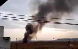Muere el piloto del avión F18 estrellado en la base aérea de Torrejón