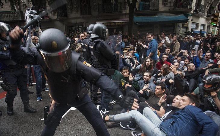 Algunas actuaciones y de la Guardia Civil fueron condenadas dentro y fuera de España