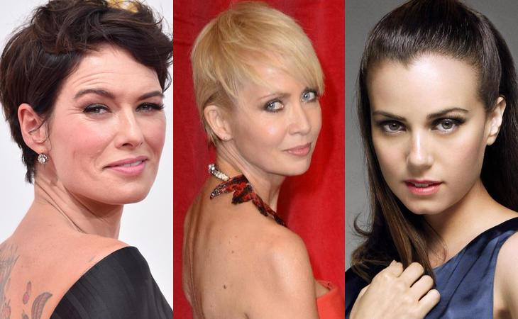 Lena Headey, Lysette Anthony y Mia Kirshner