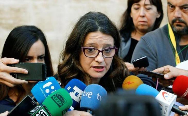 Mónica Oltra ha asegurado que denunciará los hechos