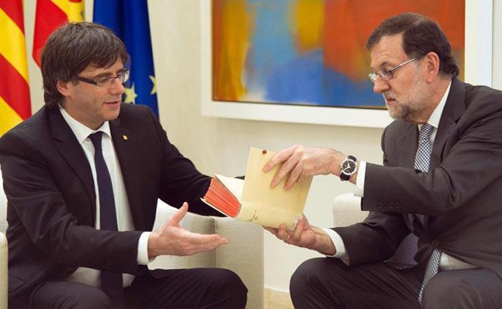 El Govern tiene previsto declarar la independencia de Cataluña en los próximos días
