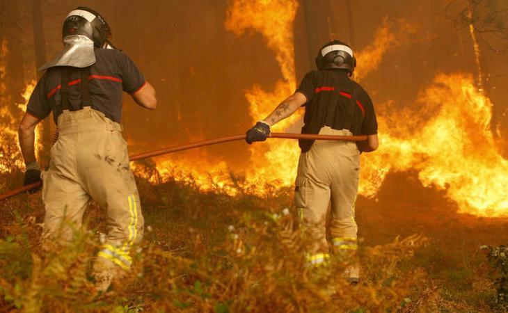 La comunidad gallega ha sufrido la virulencia de decenas de incendios en todas sus provincias