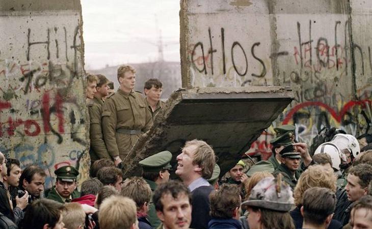 La ANC llegó a comparar la caída del muro de Berlín con el proceso soberanista catalán