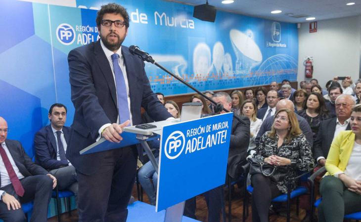 Fernando López Miras (PP), presidente de Murcia