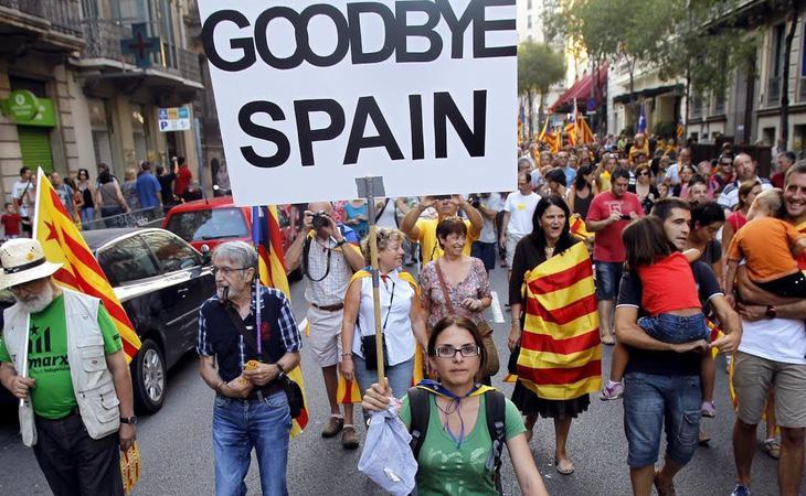 Tyler Preston cree que no todos los catalanes son independentistas y denuncia que estos se arroguen la supremacía