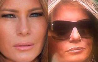 La última teoría conspiratoria de Internet: Melania Trump utiliza una doble en sus actos