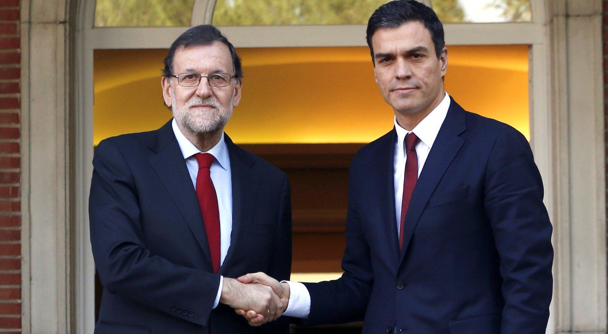 Rajoy pactará con Sánchez los nombres de los políticos que dirigirán las consejerías intervenidas