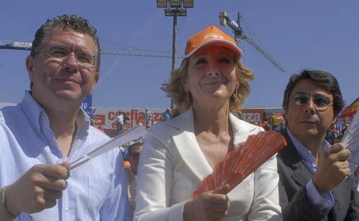 El círculo más cerrado de Esperanza Aguirre ha sido implicado en escándalos de corrupción