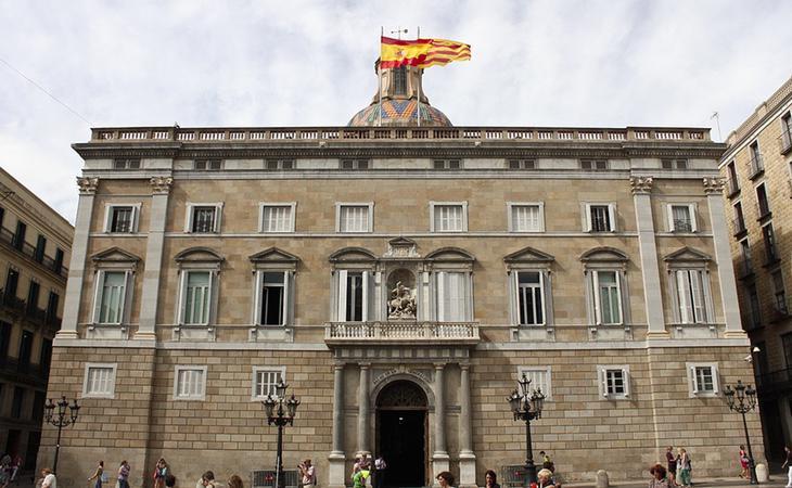 El Govern tiene la intención de atrincherarse en el Palau de la Generalitat