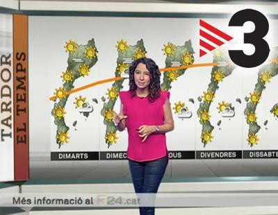 Así manipulan TV3 y ETB el mapa del tiempo