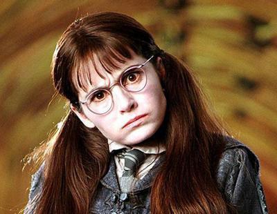 ¿Recuerdas a Myrtle La llorona de Harry Potter? Su espectacular cambio 15 años después