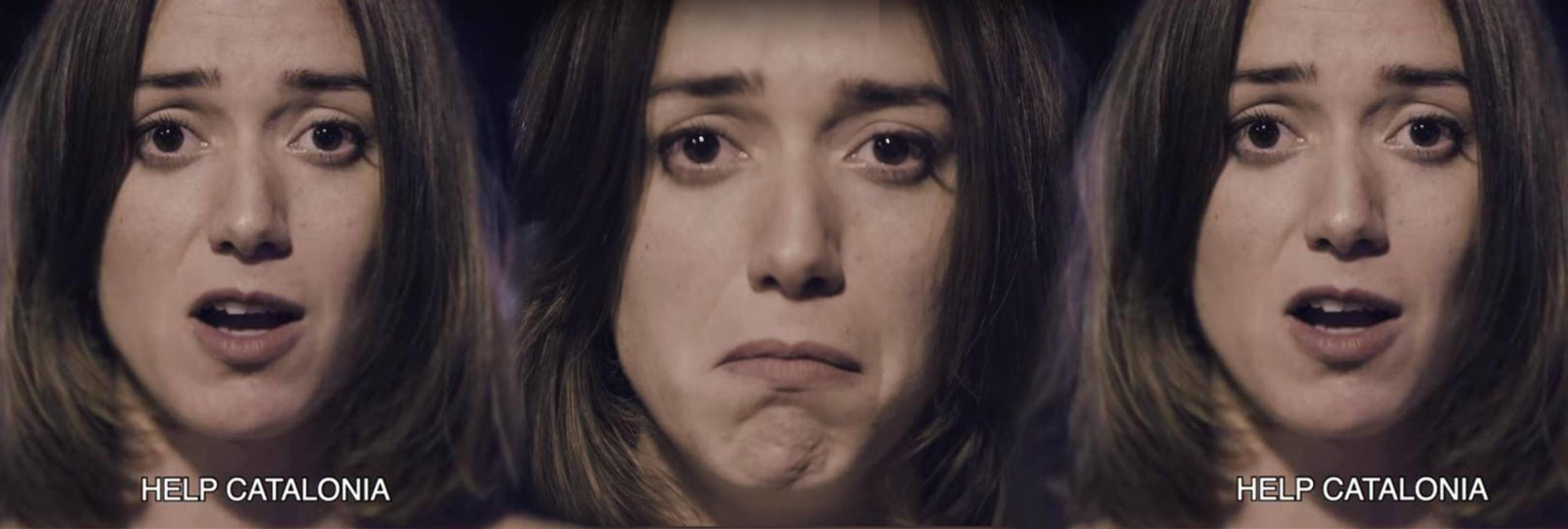 """La Asociación de Actores de Cataluña denuncia el """"asedio"""" a la actriz de 'Help Catalonia'"""