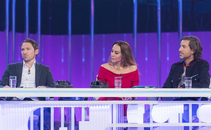 Manuel Martos, Mónica Naranjo y Joe Pérez-Orive, jurado de 'OT 2017'