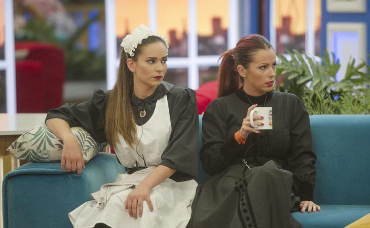Mina y Laura en 'Gran Hermano Revolution'