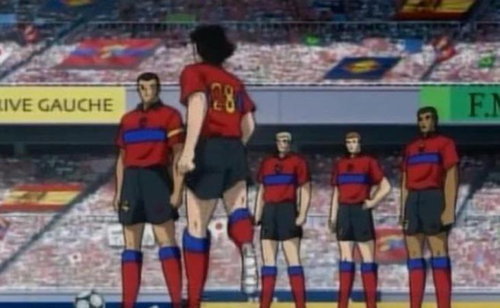 Oliver Atom llegó a la liga Española, y fue jugador del Futbol Club Cataluña