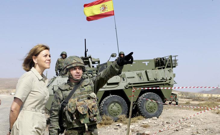 Cospedal permite a la asociación franquista utilizar un edificil oficial del Ejército de Tierra mientras se lo niega a otras que realizan labores parecidas a un sindicato