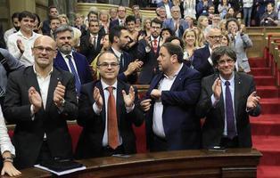 Junts Pel Sí pretende declarar la independencia el viernes como respuesta al 155