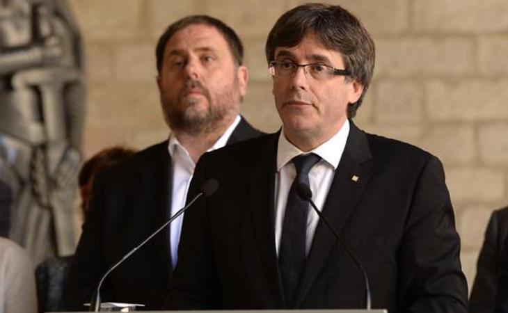 TVE no emitió la declaración de Puigdemont